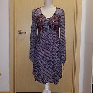 Bohemian Peasant Dress